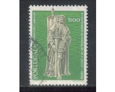 1969 - LOTTO/9834AU - PORTOGALLO - 1e. CITTA' S.DIEGO - USATO