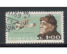 1969 - LOTTO/9836AU - PORTOGALLO - 1e. GAGO COUTINHO - USATO