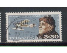 1969 - LOTTO/9836CU - PORTOGALLO - 3,30e. GAGO COUTINHO - USATO