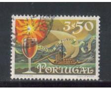 1970 - LOTTO/9845CU - PORTOGALLO - 3,50e. VINI DI PORTO - USATO