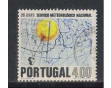 1971 - LOTTO/9952BU - PORTOGALLO - 4e. METEREOLOGIA - USATO