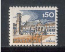 1972 - LOTTO/9955AU - PORTOGALLO - 50c. MONUMENTI - USATO