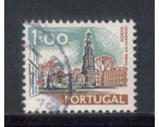 1972 - LOTTO/9955BU - PORTOGALLO - 1e. MONUMENTI - USATO