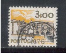 1972 - LOTTO/9955DU - PORTOGALLO - 3e. MONUMENTI - USATO