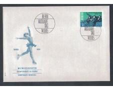 1965 - LBF/3690 - SVIZZERA - PATTINAGGIO ARTISTICO - BUSTA FDC