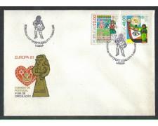 1981 - LOTTO/POR1509FD - PORTOGALLO - EUROPA 2v. - FDC
