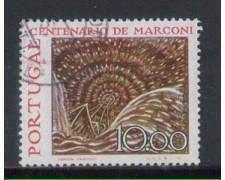 1974 - LOTTO/POR1219U - PORTOGALLO - 10e. MARCONI - USATO