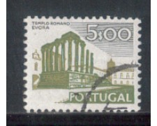 1974 - LOTTO/POR1225U - PORTOGALLO - 5e. MONUMENTI - USATO