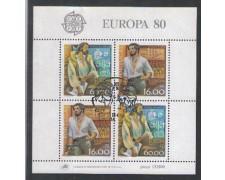 1980 - LOTTO/PORBF30U - PORTOGALLO - EUROPA BF - USATO