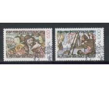 1980 - LOTTO/POR1474CPU - PORTOGALLO -  F.MENDES 2v. - USATI