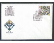1981 - LOTTO/POR1529FD - PORTOGALLO - MAIOLICHE 4° - FDC