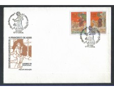 1982 - LOTTO/POR1530FD - PORTOGALLO - S.FRANCESCO - FDC
