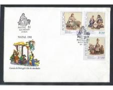 1981 - LOTTO/POR1526FD - PORTOGALLO - NATALE - FDC