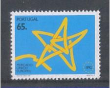 1992 - LOTTO/POR1925 - PORTOGALLO - 65e. MERCATO UNICO - NUOVO