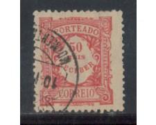 1904 - LOTTO/PORST12U - PORTOGALLO - 50r. SEGNATASSE - USATO