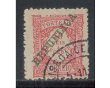 1911 - LOTTO/PORST19U - PORTOGALLO - 50r. SEGNATASSE - USATO