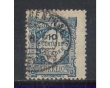 1915 - LOTTO/PORST27U - PORTOGALLO - 10c. SEGNATASSE - USATO