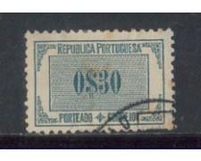 1933 - LOTTO/PORST52U - PORTOGALLO - 30c. SEGNATASSE - USATO