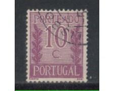 1940 - LOTTO/PORTS59U - PORTOGALLO - 10c. SEGNATASSE - USATO