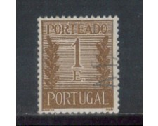 1940 - LOTTO/PORTS66U - PORTOGALLO - 1e. SEGNATASSE - USATO