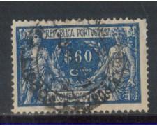 1920 - LOTTO/PORP8U - PORTOGALLO - 60c. PACCHI - USATO