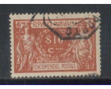 1920 - LOTTO/PORP4U - PORTOGALLO - 10c. PACCHI - USATO