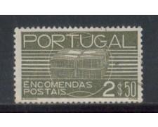 1936 - LOTTO/PORP22U - PORTOGALLO - 2,50e. PACCHI - USATO