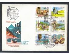 1980 - LOTTO/POR1476FD - PORTOGALLO - TURISMO 6v. - FDC