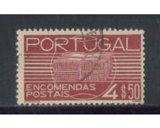 1936 - LOTTO/PORP23U - PORTOGALLO - 4,50e. PACCHI - USATO
