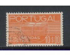 1936 - LOTTO/PORP25U - PORTOGALLO - 10e. PACCHI - USATO