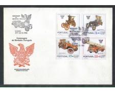 1981 - LOTTO/POR1522FD - PORTOGALLO - VIGILI DEL FUOCO - FDC
