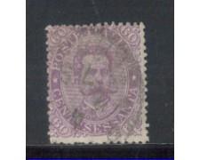 1889 - LOTTO/REG47UC - REGNO - 60c. VIOLETTO UMBERTO I° - USATO