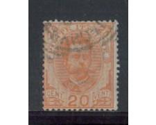 1891 - LOTTO/REG61U - REGNO - 20c. RE UMBERTO - USATO