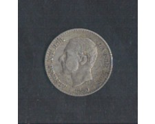 1880 - LOTTO/MSPA1 - SPAGNA - 50c. ALFONSO XII°