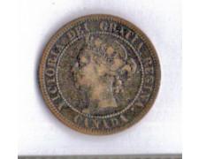 1884 - LOTTO/MCAN1884 - CANADA - 1 CENT. REGINA VITTORIA