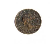 1896 - LOTTO/MCAN1896 - CANADA - 1 CENT. REGINA VITTORIA