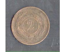 1869 - LOTTO/MURU1869A - URUGUAY - 2 CENTESIMOS - ZECCA -A-