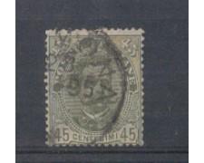 1891 - LOTTO/REG63U - REGNO - 45C. VERDE - USATO
