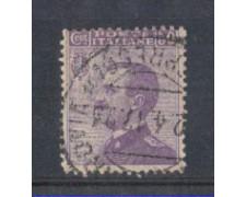 1908 - LOTTO/REG85U - REGNO - 50c. VIOLETTO - USATO