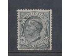 1917/20 - LOTTO/REG109U - REGNO - 15c. ARDESIA - USATO