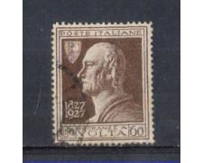 1927 - LOTTO/REG212U - REGNO -  60c. A. VOLTA - USATO