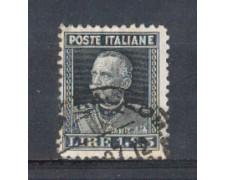 1927 - LOTTO/REG215U - REGNO - 1,85 LIRE EFFIGE - USATO