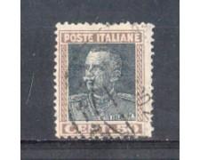 1927 - LOTTO/REG218U - REGNO - 50c. EFFIGE - USATO