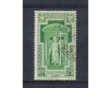 1933 - LOTTO/REG346U - REGNO -  25c. ANNO SANTO - USATO