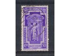1933 - LOTTO/REG347U - REGNO - 50c. ANNO SANTO - USATO