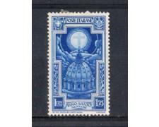 1933 - LOTTO/REG348L - REGNO - 1,25 L. ANNO SANTO - T/L