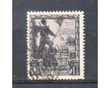 1938 - LOTTO/REG446U - REGNO - 1,75L. PROCLAM. IMPERO - USATO