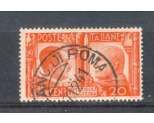 1941 - LOTTO/REG453U - REGNO - 20c. FRATELLANZA - USATO