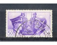 1941 - LOTTO/REG455U - REGNO - 50c. FRATELLANZA - USATO