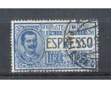 1925 - LOTTO/REGEX12U - REGNO - ESPRESSO 1,25 LIRE - USATO